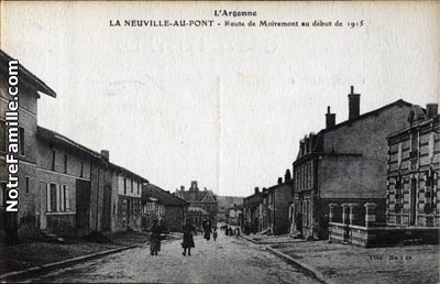 Louis Rolland sent a letter to Celestine from this village