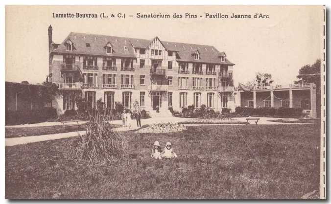 Sanitorium Jeanne D'arc, where Celestine worked as a nurse during the first world war